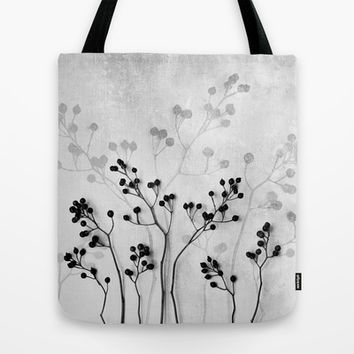 Abstract Flowers 5 Tote Bag by Mareike Böhmer Photography