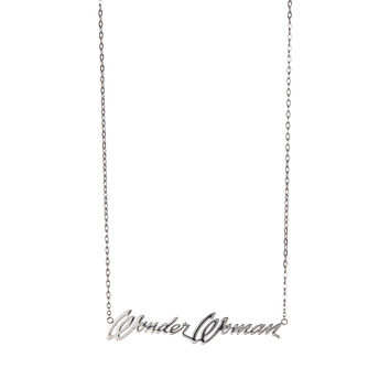 Silver 'Wonder Woman' Necklace | zulily
