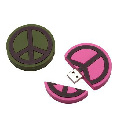 Peace Sign USB Memory Drive | PBteen