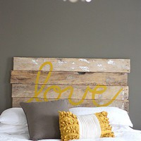 House*Tweaking DIY Headboard