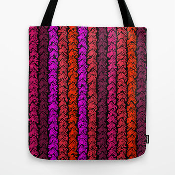Moroccan Spice Twist Tote Bag by Alice Gosling