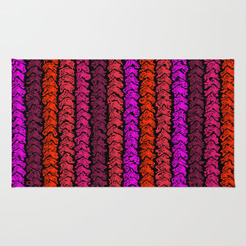 Moroccan Spice Twist Rug by Alice Gosling