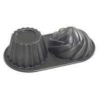 Walmart: Nordic Ware Pro Cast Bakeware Nonstick Aluminum Cute Cupcake Pan