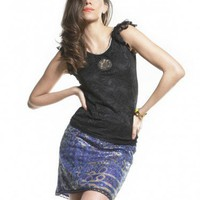 Tonta Blue - Skirts - Women - Custo Barcelona