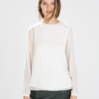 LONG-SLEEVED TOP New