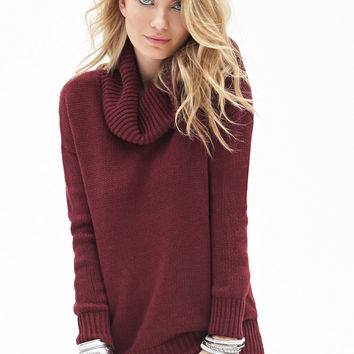Classic Cowl Neck Sweater