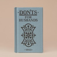 Don'ts For Husbands by Bloomsbury USA - ShopKitson.com