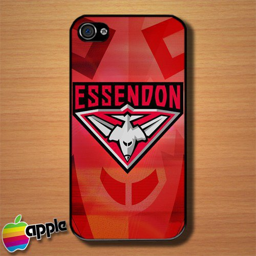Essendon Australian Football Club Custom iPhone 4 or 4S Case Cover