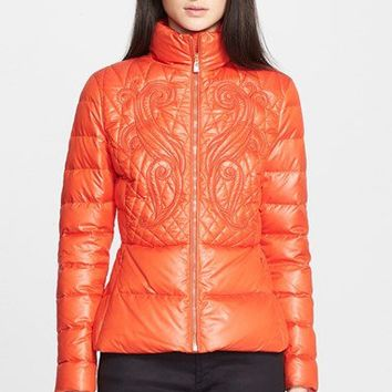 Versace Collection Quilted Puffer Coat