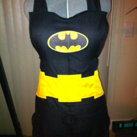 Batman apron - Featured on Geeks are Sexy, Fashionably Geek, and So Geek Chic