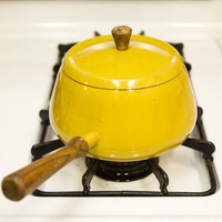 Mustard-Yellow Pot
