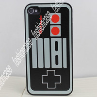 Black Gameboy Hard Case Cover for Apple iPhone 4gs Case, iPhone 4s Case, iPhone 4 Hard Case