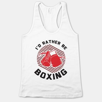 I'd Rather Be Boxing