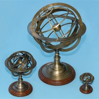 The Antique Sextant - Solid Brass