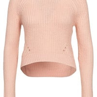 Slouch Crop Jumper, New Look