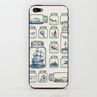 Vintage Preservation iPhone & iPod Skin by Paula Belle Flores