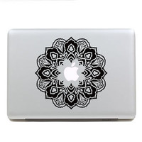 Flowers macbook pro decals macbook air macbook pro decal vinyls macbook decals sticker Vinyl mac decals Apple Mac Decal(SN26261)