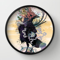 You are Free to Fly Wall Clock by Mat Miller