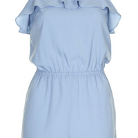 Ruffle Strappy Playsuit