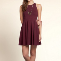 Boomer Beach Knit Skater Dress