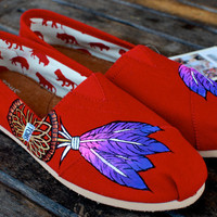 Red Classic Dream Catcher TOMS