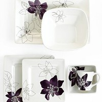 Laurie Gates Dinnerware, Anna Plum Collection - Casual Dinnerware - Dining &amp; Entertaining - Macy&#x27;s