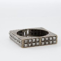 Square Stone Clasp Bracelet