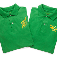 Exclusive Legend of Zelda Polos
