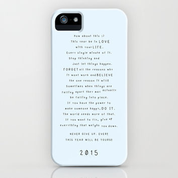 Survival guide 2015 iPhone & iPod Case by Deadly Designer