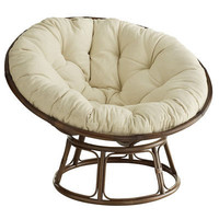Papasan Chair & Frame - Brown