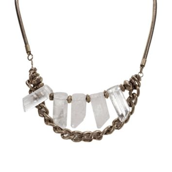 Panacea Stone Prism Necklace at Von Maur