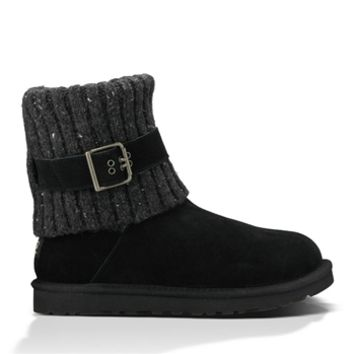 UGG® Australia Cambridge Folded Buckle Boot at Von Maur