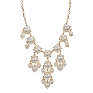 Troy Designs Juniors Pearl Bead Statement Necklace at Von Maur