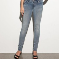 Amazon.com: G by GUESS Jessie Knit Skinny - Powder Wash: Clothing
