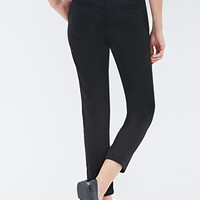 Pleated Stretch-Fit Trousers