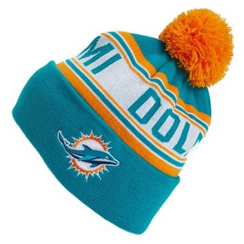 Outerstuff 'Miami Dolphins' NFL Knit Hat (Big Boys)