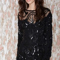 Vintage Eve Sequin Dress