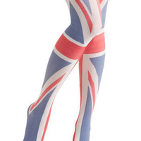Yea or Nation Tights in United Kingdom | Mod Retro Vintage Tights | ModCloth.com