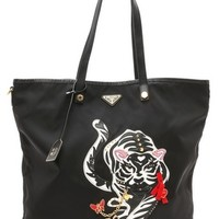 What Goes Around Comes Around Prada Year of the Tiger Tote