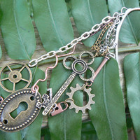 Ear cuff wrap in steampunk style!
