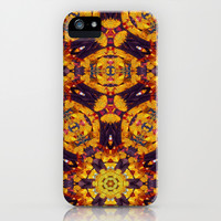 Patterned Paintography  iPhone & iPod Case by Louisa Catharine Design