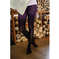 Purple Ombre Tights | Dip Dyed Gradient Tights by Velvet Heart | Playful Sophisticated Legwear at Between the Sheets