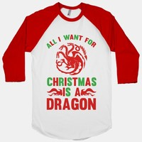 All I Want For Christmas Is A Dragon