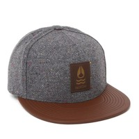Nixon Highland Strapback Hat - Mens Backpack - Gray - One