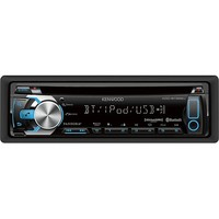 Kenwood - CD - Built-In Bluetooth - Apple® iPod®-Ready - In-Dash Receiver