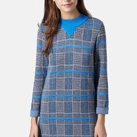 Topshop 'Graduate' Check Dress
