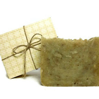 Chamomile Green Tea Soap, Handmade Soap, French Green Clay Soap, Gift under 10