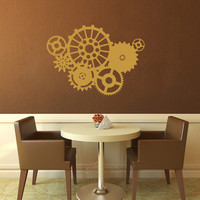 Clockwork Wall Decal - Large