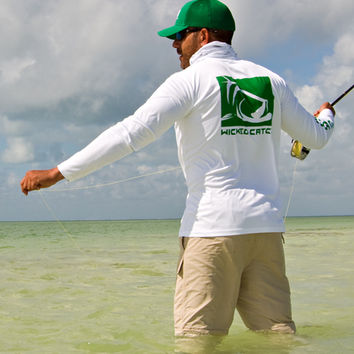 Salty Poon PTP Fishing Shirt -W/G