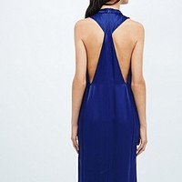 Won Hundred Bell Dress in Blue - Urban Outfitters